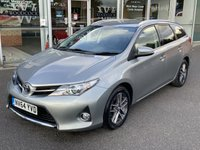 2015 TOYOTA AURIS 1.4 D-4D ICON PLUS 5 dr ESTATE SAT NAV 89 BHP £6290.00