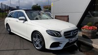 USED 2017 67 MERCEDES-BENZ E CLASS 2.0 E 220 D AMG LINE PREMIUM 5d AUTO 192 BHP ++FANTASTIC VALUE FOR MONEY+PANORAMIC GLASS ROOF+DESIRABLE COLOUR COMBO+GREAT SPECIFICATION++