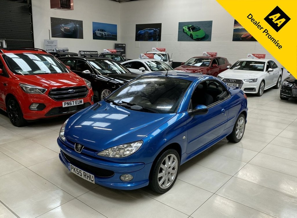 Strange 2005 Peugeot 206 1 6 Cc Sport 2D 108 Bhp Convertible Gmtry Best Dining Table And Chair Ideas Images Gmtryco