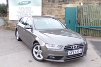 USED 2012 62 AUDI A4 2.0 AVANT TDI SE TECHNIK 5d 141 BHP SAT NAV Full Leather Service History