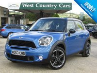 USED 2013 63 MINI COUNTRYMAN 2.0 COOPER SD 5d 141 BHP Well Equipped Family SUV