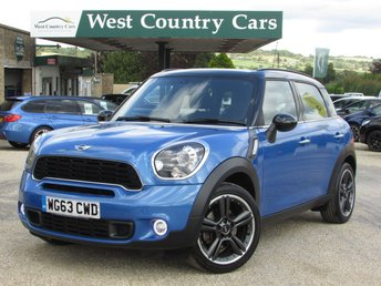 2013 MINI COUNTRYMAN 2.0 COOPER SD 5d 141 BHP £10000.00