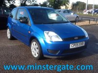 2005 FORD FIESTA 1.2 STYLE 3d 74 BHP * 1 OWNER, ONLY 59000 MILES * £1590.00