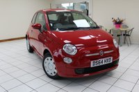 USED 2014 64 FIAT 500 1.2 POP DUALOGIC 3d AUTO 69 BHP