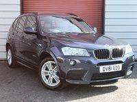 2012 BMW X3 2.0 XDRIVE20D M SPORT 5d 181 BHP £10995.00