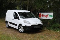 USED 2013 63 PEUGEOT PARTNER 1.6 HDI S L1 850 90PS Low Mileage Example, 850KG Payload Model