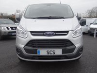 USED 2016 16 FORD TRANSIT CUSTOM 270 LIMITED L1 SWB 2.2 TDCI 125 BHP Direct From Leasing Company With Only 25000 Miles And Full Service History! Top Of Range Limited Model With Ultimate Specification!