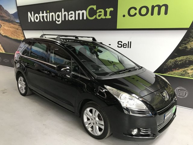 USED 2010 10 PEUGEOT 5008 1.6 HDI EXCLUSIVE 5d 110 BHP