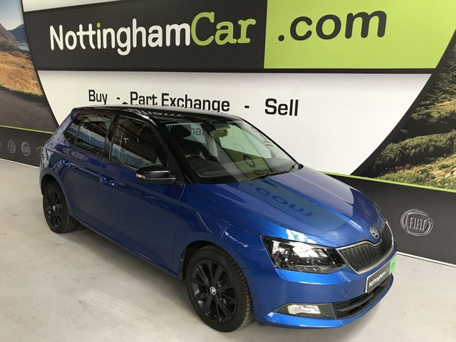 USED 2016 16 SKODA FABIA 1.0 COLOUR EDITION MPI 5d 74 BHP