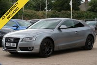 USED 2009 09 AUDI A5 3.0 TDI QUATTRO SPORT 3d 240 BHP SATELLITE NAVIGATION, FULL LEATHER INTERIOR + HEATED SEATS