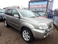 USED 2007 56 NISSAN X-TRAIL 2.2 AVENTURA DCI 5d 135 BHP GREAT ECONOMY, LEATHER, SAT NAV, ALLOYS, PANROOF, 4x4