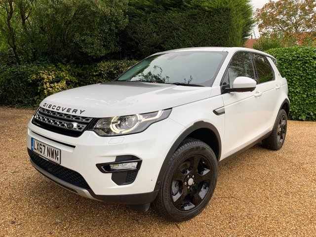 View our LAND ROVER DISCOVERY SPORT