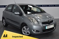 USED 2010 60 TOYOTA YARIS 1.3 TR VVT-I 5d 100 BHP (ONE OWNER - ONLY 30,000 MILES)