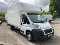 USED 2013 63 CITROEN RELAY 35 14FT LUTON TAIL LIFT HDI 130PS *NEW MOT. SIX MONTHS AA WARRANTY*