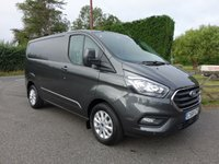 USED 2018 68 FORD TRANSIT CUSTOM 300 LIMITED L1 SWB POWERSHIFT AUTOMATIC 2.0 TDCI 130 BHP EURO 6 Direct From Leasing Company With 3000 Miles And Ford Warranty Remaining Till September 2021, High Specification Limited Model In Best Selling Magnetic Grey!