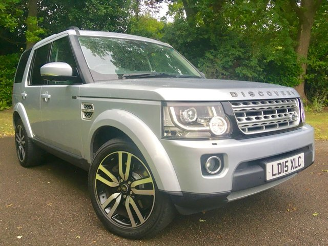 2015 15 LAND ROVER DISCOVERY 3.0 SDV6 HSE LUXURY 5d AUTO 255 BHP