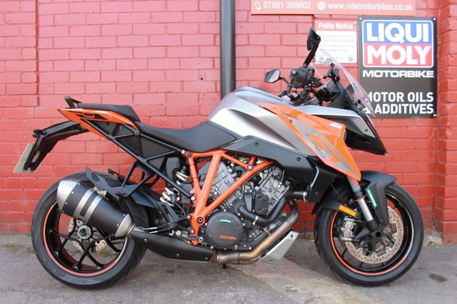 USED 2017 KTM 1290 SUPERDUKE GT 17 169 BHP