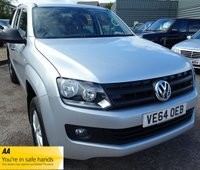 USED 2014 64 VOLKSWAGEN AMAROK 2.0 DC TDI STARTLINE 4MOTION 1d 139 BHP SERVICE HISTORY & 1 PREVIOUS KEEPER