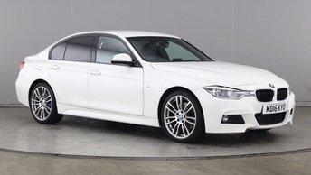2016 BMW 3 SERIES 2.0 320I M SPORT 4d AUTO 181 BHP £17990.00