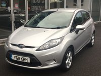 USED 2011 11 FORD FIESTA 1.2 EDGE 5 DOOR 81 BHP