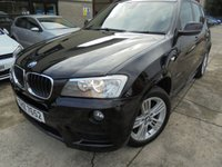 USED 2012 BMW X3 2.0 XDRIVE20D M SPORT 5d 181 BHP Excellent SUV, No Deposit Necessary, No Fee Finance Available, Part Exchange Welcomed