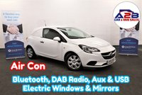 2015 VAUXHALL CORSA 1.3 CDTI ECOFLEX Stop Start 95 BHP in White with Air Conditioning, Bluetooth, DAB Radio and more £3980.00