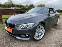 2015 BMW 4 SERIES 3.0 430D XDRIVE LUXURY 2d AUTO 255 BHP £16990.00