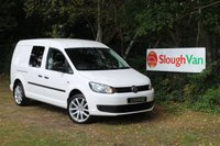 USED 2013 13 VOLKSWAGEN CADDY MAXI 1.6 TDI C20 KOMBI AIR CON SAT NAV Air Conditioning, Satellite Navigation, One Owner
