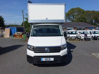 USED 2019 69 VOLKSWAGEN CRAFTER CR35 TDI STARTLINE BUSINESS LWB DROPWELL LUTON 2.0 TDI 140 PS New & Unregistered High Specification Volkswagen Crafter Fitted With Top Of Range 4.9Mtr JC Payne Dropwell GRP Luton Body! Good Saving On New VW Price And Immediate Availability!
