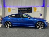 USED 2016 16 AUDI A5 3.0 S5 SPORTBACK TFSI QUATTRO BLACK EDITION 5d AUTO 328 BHP