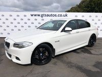 USED 2010 10 BMW 535 3.0D M SPORT AUTO SAT NAV 300BHP