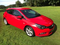 USED 2015 65 VAUXHALL ASTRA 1.6 SRI CDTI 5d 108 BHP **EXCELLENT FINANCE PACKAGES**FREE ROAD TAX**CRUISE CONTROL**BLUETOOTH**