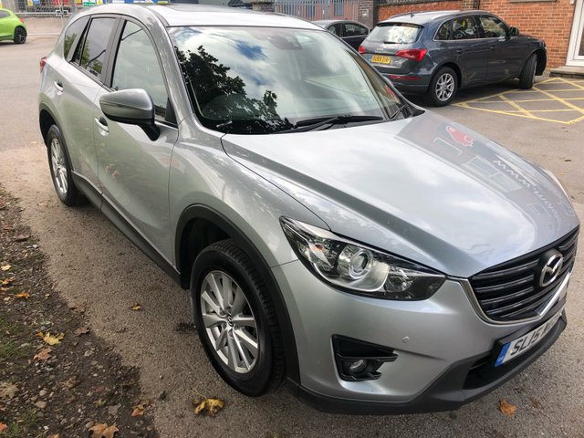 USED 2015 15 MAZDA CX-5 2.2 D SE-L LUX 5d 148 BHP STUNNING VERY HIGH SPEC EXAMPLE , LOOKS AND DRIVES SUPERB WITH FULL MAIN DEALER  SERVICE HISTORY UP TO FEBRUARY 2019 ,CONSISTING 8 DOCUMENTED STAMPS. FULL LEATHER ITERIOR. FACTORY GLASS SUNROOF. CRUISE CONTROL. AUX/USB, HEATED SEATS, PARKING SENSORS. PRIVACY GLASS 2 KEYS