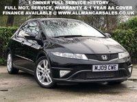 2009 HONDA CIVIC 1.8 I-VTEC ES 5d 138 BHP £4695.00