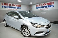 USED 2016 16 VAUXHALL ASTRA 1.6 TECH LINE CDTI 5d AUTO 134 BHP Sat Nav, 1 Owner, Bluetooth, DAB, Voice command
