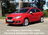 2010 SEAT IBIZA 1.4 FR TSI DSG 3d AUTO 150 BHP £4295.00