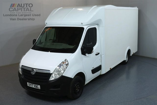 2017 17 VAUXHALL MOVANO 2.3 F3500 L3H1 123 BHP ULEZ COMPLIANT LUTON ONE OWNER FROM NEW