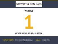 USED 2014 64 SUZUKI SPLASH 1.0 SZ2 5d 68 BHP