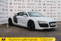 USED 2014 14 AUDI R8 4.2 V8 QUATTRO 2d 424 BHP SAZUKA GREY METALLIC+LOW MILES