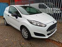 USED 2013 63 FORD FIESTA 1.5 TDCi Van *AIR CONDITIONING + BLUETOOTH* AIR CON - BLUETOOTH - SERVICE HISTORY