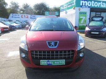 2011 PEUGEOT 3008 1.6 SPORT HDI 5d AUTO 112 BHP £4500.00