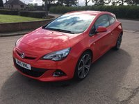 2015 VAUXHALL ASTRA 1.6 GTC LIMITED EDITION S/S 3d 197 BHP £7995.00