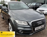 USED 2013 63 AUDI Q5 2.0 TFSI QUATTRO S LINE PLUS 5d 177 BHP FACTORY FITTED EXTRAS AUDI SERVICE HISTORY