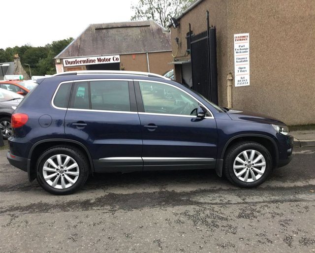 USED 2014 14 VOLKSWAGEN TIGUAN 2.0 MATCH TDI BLUEMOTION TECHNOLOGY 4MOTION 5d 139 BHP ++1 OWNER FROM NEW WITH FULL VW SERVICE HISTORY++