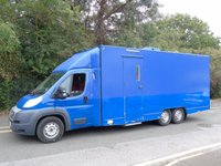 2014 FIAT DUCATO 3.0 160BHP POWER 6 WHEEL TRI-AXLE MOBILE OFFICE/ EXHIBITION UNIT  £24995.00