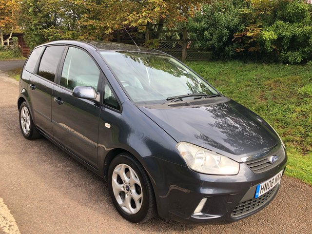 USED 2008 08 FORD C-MAX 1.8 ZETEC 5d 124 BHP **2 OWNERS**LOW MILEAGE**SUPERB DRIVE**