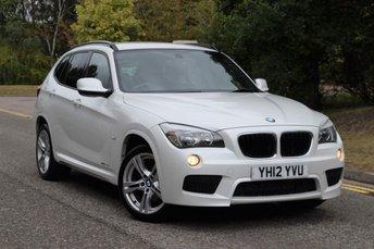 2012 BMW X1 2.0 XDRIVE20D M SPORT 5d AUTO 174 BHP £7995.00