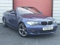 2008 BMW 1 SERIES 2.0 120D SE 2d 175 BHP £6195.00