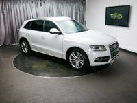 USED 2015 64 AUDI Q5 3.0 SQ5 TDI QUATTRO 5d AUTO 309 BHP £0 DEPOSIT FINANCE AVAILABLE, AIR CONDITIONING, AUDI DRIVE SELECT, AUTOMATIC HEADLIGHTS, BANG & OLUFSEN SOUND SYSTEM, BLUETOOTH CONNECTIVITY, CLIMATE CONTOL, CRUISE CONTROL, DAB RADIO, ELECTRONIC PARKING BRAKE, GEARSHIFT PADDLES, HEATED SEATS, PARKING SENSORS, SATELLITE NAVIGATION, START/STOP SYSTEM, STEERING WHEEL CONTROLS, TRIP COMPUTER
