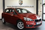 """USED 2015 65 BMW 2 SERIES ACTIVE TOURER 2.0 218D SE ACTIVE TOURER 5DR 148 BHP fsh Finished in a stunning flamenco metallic red  styled with 16"""" alloys. Upon opening the drivers door you are presented cloth upholstery, full bmw service history, satellite navigation, bluetooth, dab radio, active guard, fog lights, auto air con, rain sensors, parking sensors"""